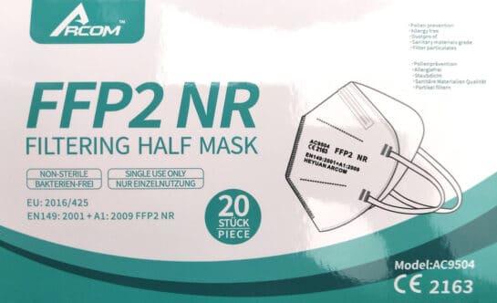 Ffp2 Maske Arcom